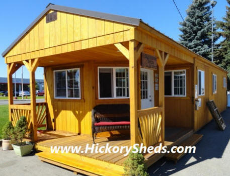Old Hickory Sheds ~ IDAHO Buildings Barns Cabins Garage