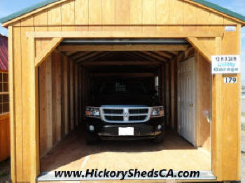 Old hickory sheds garage montana for 12x14 roll up door