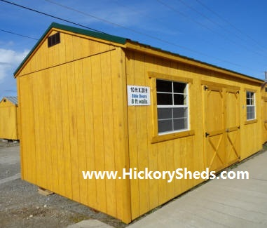 Old Hickory Sheds 12x20 Side Utility