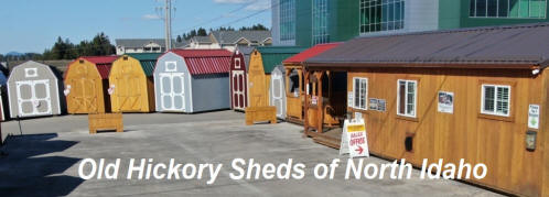 Old Hickory Sheds North Idaho