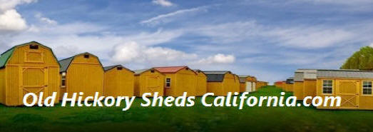 With Two Factories In California, Old Hickory Can Easily Deliver An Utility  Shed, Lofted Barn, Barn, Cabin, Playhouse, Side Porch, Deluxe Porch Or  Garage ...