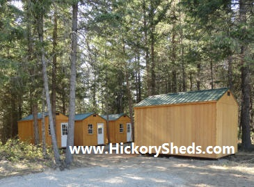 More Old Hickory Sheds 10'x16' Utiltiy Cabins