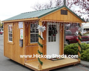 old hickory sheds delivery