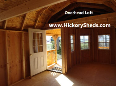 Old Hickory Sheds Deluxe Porch Montana