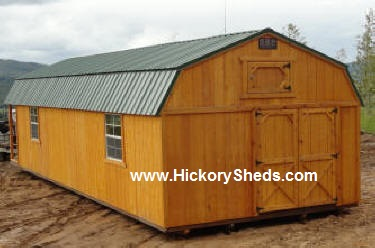 Old Hickory Sheds Lofted Barn Oregon