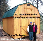 Old Hickory Lofted Barn Owners