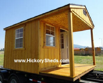 Old Hickory Sheds Front Porch