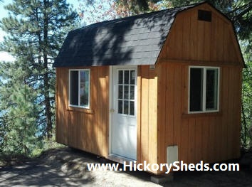 Old Hickory Sheds 8x12 Lofted Barn Cabin Delivered
