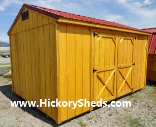Old Hickory Sheds 8x12 Utility side doors