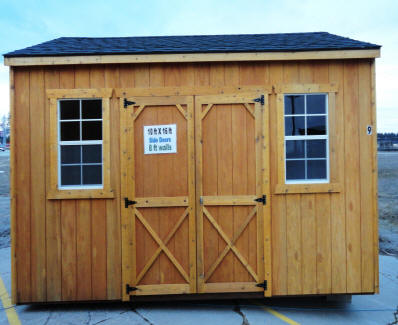 Old Hickory Sheds 10x16 Side Utility